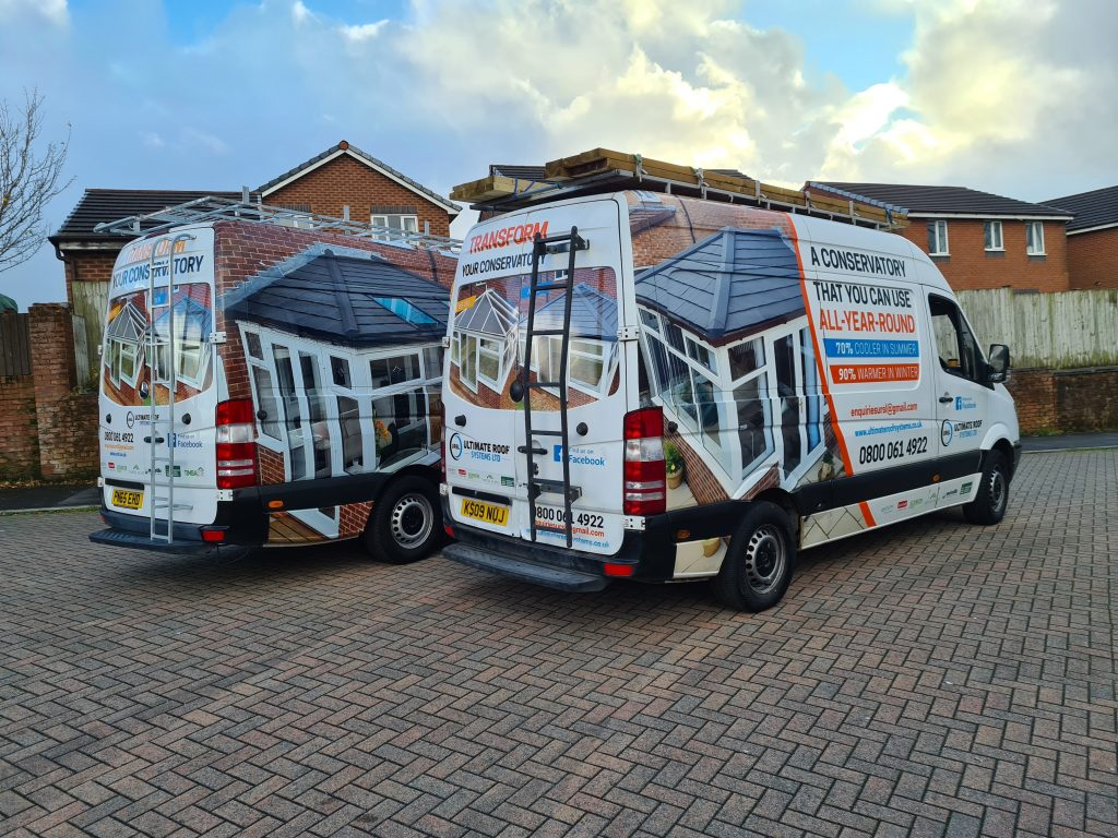 Ultimate Roof Systems Company Van